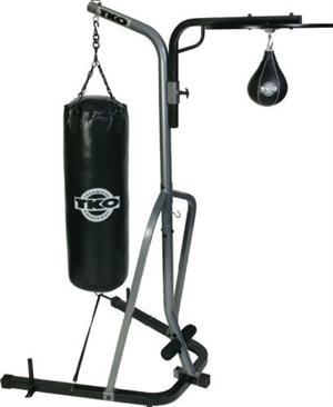 Standing Punching Bag and Speed Bag  Set